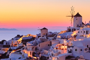 Mykonos and Santorini